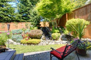 Maximize your small landscape space