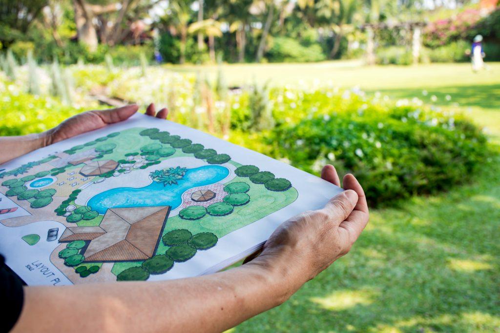 How to prepare a landscape design